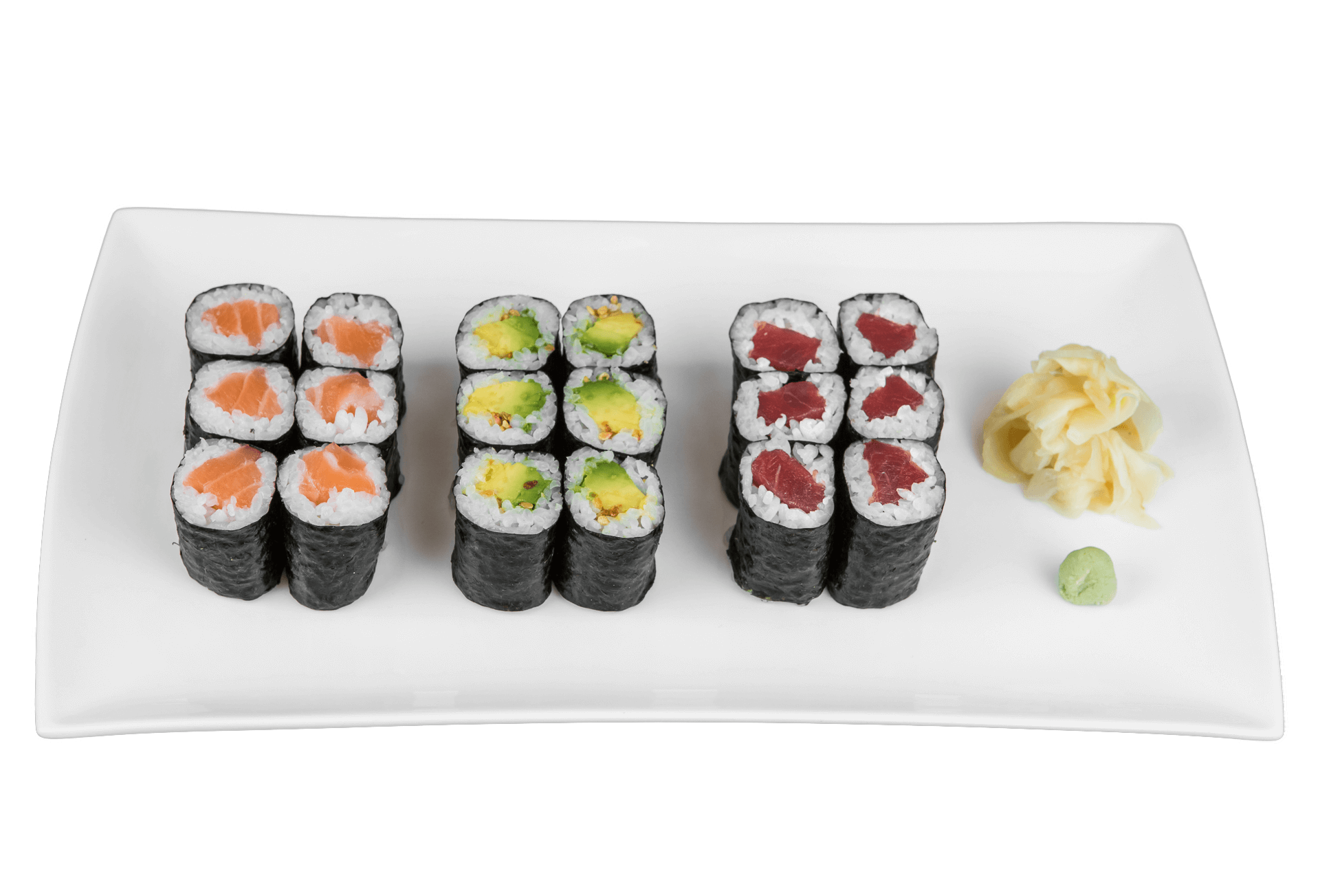 Maki Three Mittagsmenü