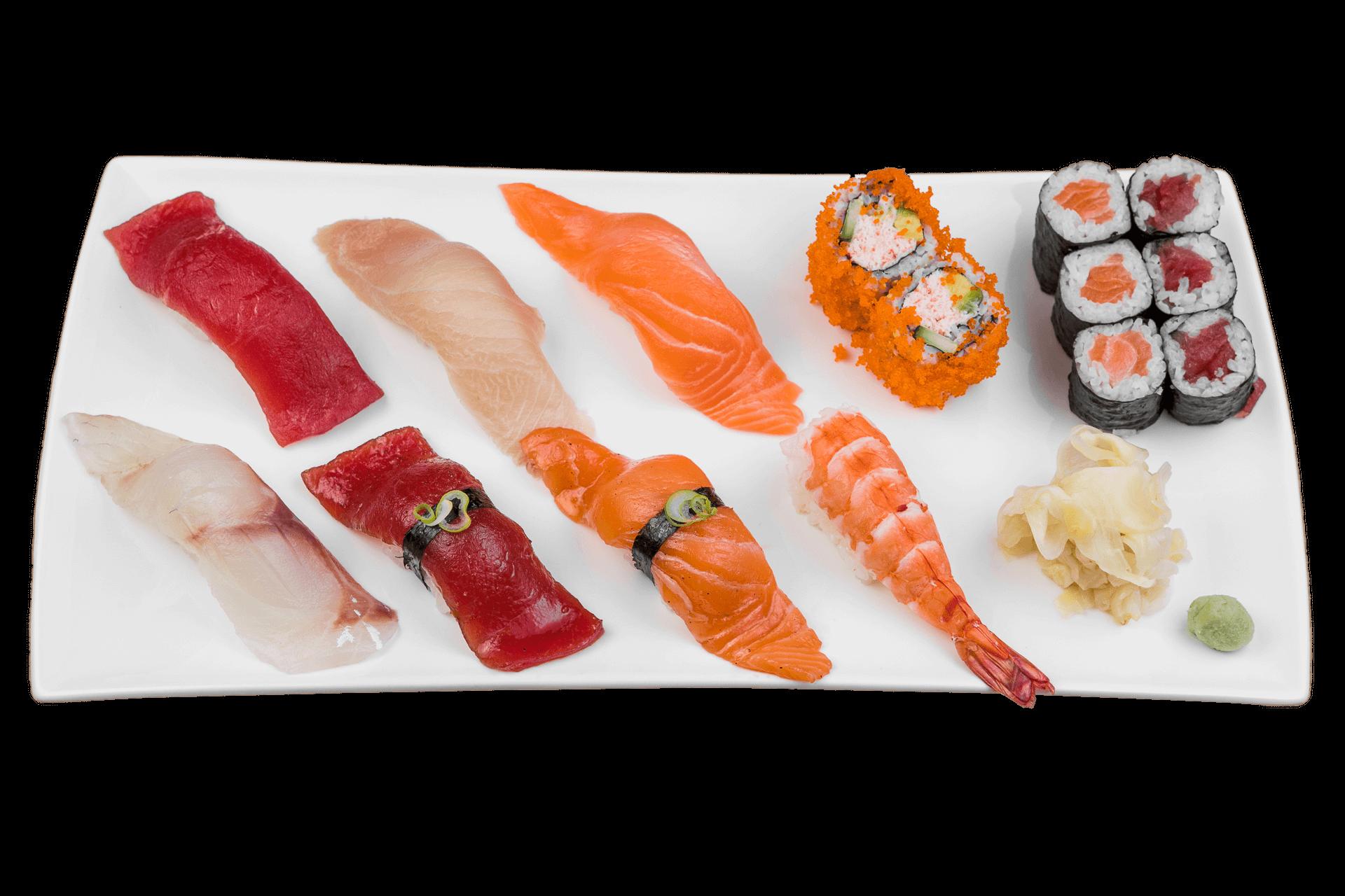 Take Sushi Platte