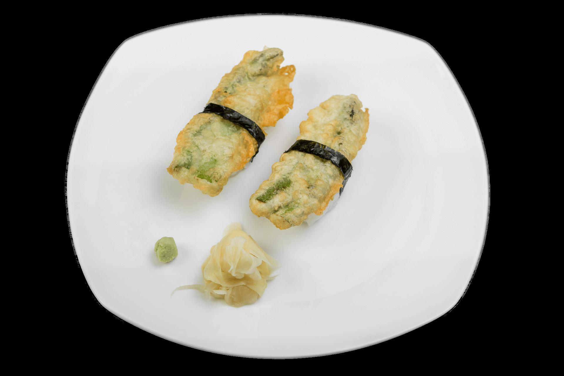 Asparagus Tempura Nigiri
